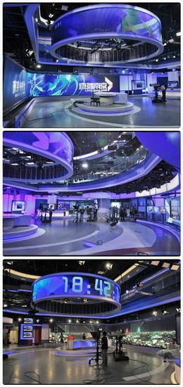 艾迪普助力南京广电全媒体新闻演播厅启用