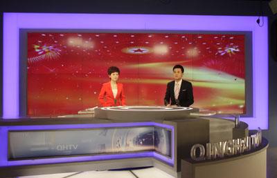 青海广播电视台新闻频道的成功改版成为了艾迪普机构2012年的又一