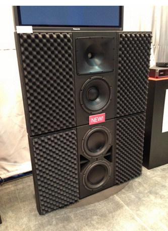 一款三分频扬声器rsc-112和一款次低频扬声器rsb-212.