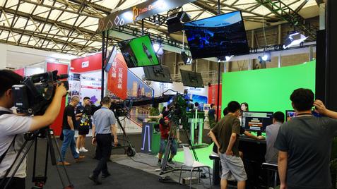 夏日里一场广电的盛会,图文报道上海NAB隆重开展