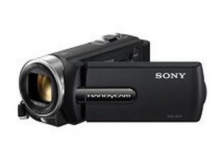 大变焦标清数码摄像机DCR-SX21E