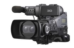 索尼肩扛式双镜头3D摄录一体机PMW-TD300