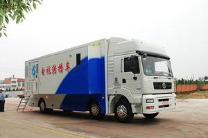 襄樊电视台8+2讯道电视转播车