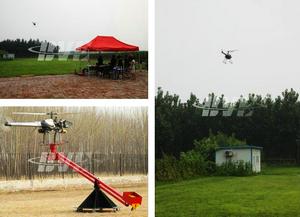无人直升机拍摄