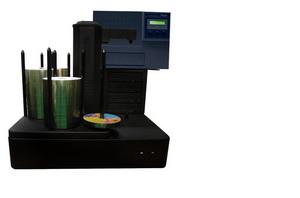 vinpower全自动光盘印刷刻录制作系统