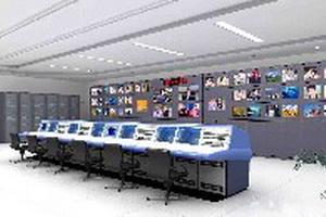 机房电视墙、播控台