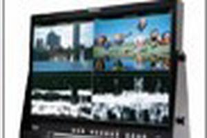 TVLogic LQM-241W整合四画面分离多信道监视器