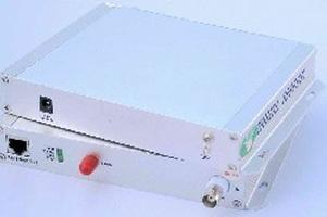 1路数字非压缩视音频/数据/以太网光端机