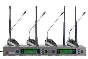 ST-4001(一托四)无线U段变频会议话筒