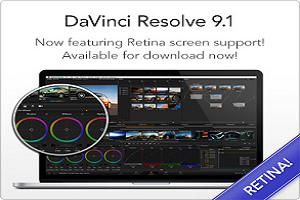 DaVinci Resolve 9.1版本